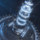 Space Station Core Logo Reveal - VideoHive Item for Sale