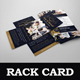 Wedding Photography Rack card Design Template - GraphicRiver Item for Sale