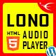 Lono - Responsive HTML5 Audio Player With Playlist WordPress Plugin - CodeCanyon Item for Sale