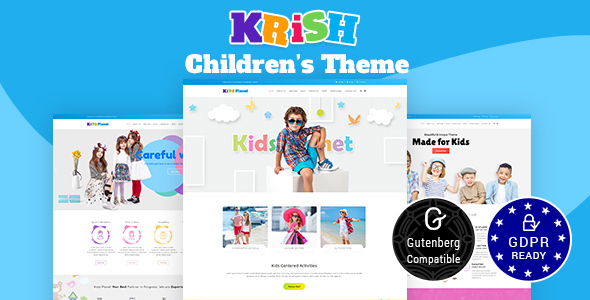 Krish | Nursery & Pre School WP Theme