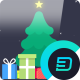 Flat Christmas Greeting // Apple Motion - VideoHive Item for Sale