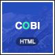 Cobi - Creative Portfolio HTML5 Template - ThemeForest Item for Sale