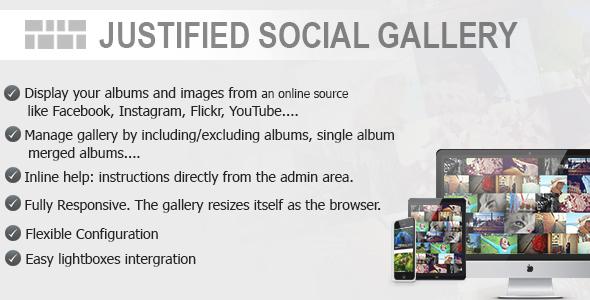 Justified Social Gallery Download