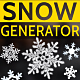 Snow Falling Generator - VideoHive Item for Sale