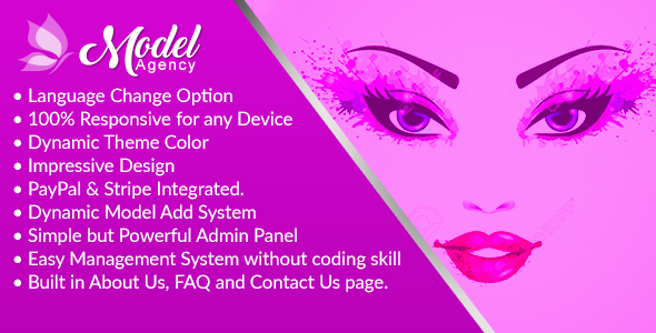 ModelAgency - Complete Model Agency and Directory System