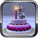 Birthday Cake with  Frozen Snow Man Model - 3DOcean Item for Sale