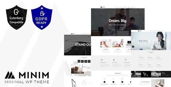 Minim - Minimal Business WordPress