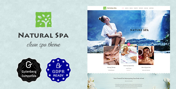 Nature Spa | Beauty Spa, Massage Spa Theme