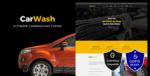 Car Wash WordPress