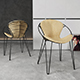 Chair Joli Wire - 3DOcean Item for Sale