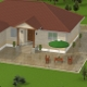 House for architectural render - 3DOcean Item for Sale