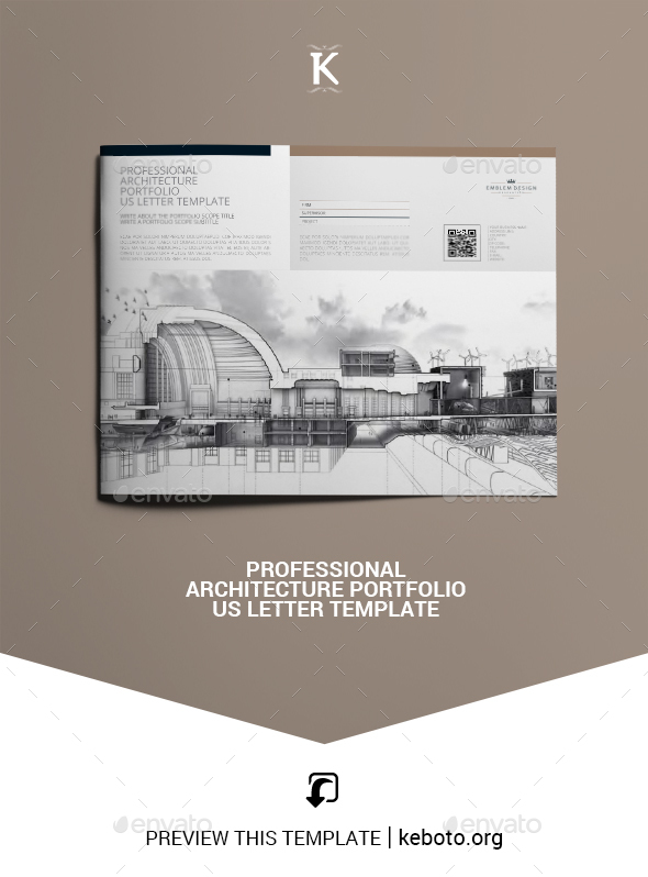 Vectorize Portfolio Brochure Templates From Graphicriver