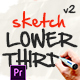 Lower Thirds - Sketch - Premiere Pro - VideoHive Item for Sale