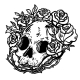 Line Art Skull Illustration - GraphicRiver Item for Sale