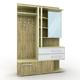 Hallway furniture 01 - 3DOcean Item for Sale