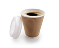 Coffee take out disposable cup isolated on white - PhotoDune Item for Sale
