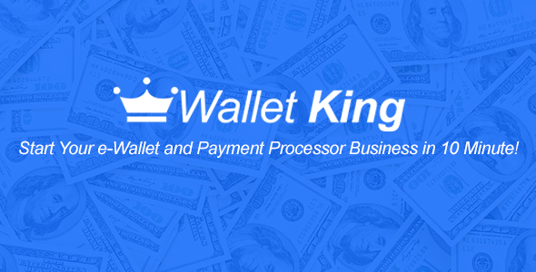 Wallet King - Online Payment Gateway with API Download