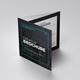Creative Square Annual Tri-Fold - GraphicRiver Item for Sale