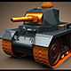 Mini Panzer Tank - 3DOcean Item for Sale