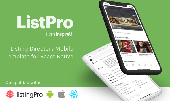 Codecanyon | ListPro - Listing Directory React Native template Free Download #1 free download Codecanyon | ListPro - Listing Directory React Native template Free Download #1 nulled Codecanyon | ListPro - Listing Directory React Native template Free Download #1