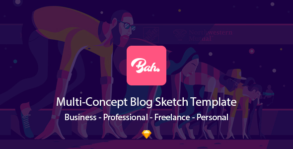 Bahram l Sketch Blog Theme