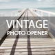 Vintage Photo Opener - VideoHive Item for Sale