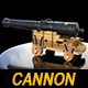 Royal old Cannon - 3DOcean Item for Sale