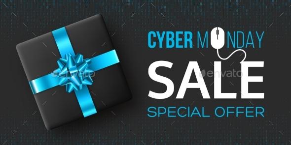 Cyber Monday Sale Poster or Banner