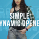 Simple Dynamic Opener - VideoHive Item for Sale