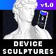 Device Sculptures Mock-Up - GraphicRiver Item for Sale