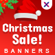 Christmas Sale Web Banner Set - GraphicRiver Item for Sale