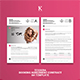 Tessera Booking Agreement Contract A4 Template - GraphicRiver Item for Sale