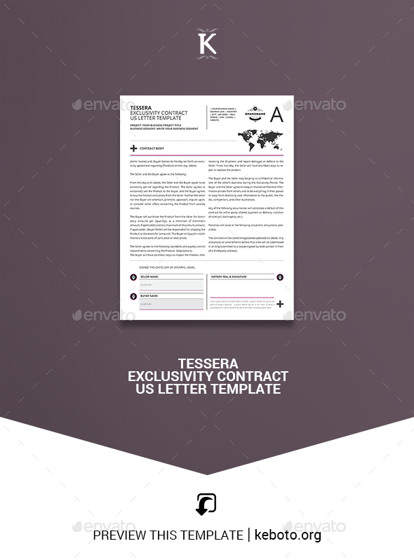 exclusivity letter template.html
