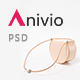 Anivio - Minimalist E-commerce PSD Template - ThemeForest Item for Sale