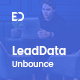 LeadData - Lead Generation Unbounce Landing Page Template - ThemeForest Item for Sale