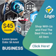 Multipurpose Business Banner Ads Template - GraphicRiver Item for Sale