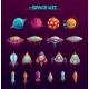 Cartoon Space War Concept - GraphicRiver Item for Sale