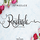 Rosalinda Script - GraphicRiver Item for Sale