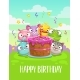 Happy Birthday Greeting Card - GraphicRiver Item for Sale