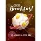 Good Breakfast Is Always a Good Idea Cartoon - GraphicRiver Item for Sale