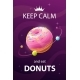 Keep Calm and Eat Donuts - GraphicRiver Item for Sale