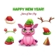 2019 Year of the Pig - GraphicRiver Item for Sale