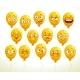 Cartoon Emoji Balloons Set - GraphicRiver Item for Sale