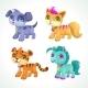 Cartoon Animals Set - GraphicRiver Item for Sale