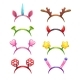 Cartoon Headbands with Horns and Ears - GraphicRiver Item for Sale