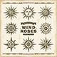 Vintage Nautical Wind Roses Set - GraphicRiver Item for Sale