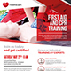 CPR Training Flyer Template - GraphicRiver Item for Sale