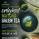 Matcha Asian Tea Flyer - GraphicRiver Item for Sale