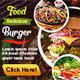 Business Food Restaurant Banner Ads - GraphicRiver Item for Sale