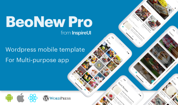 BeoNews Pro React Native mobile app for WordPress, listing directory mobile app by react native, listapp listing directory mobile app by react native nulled, react native e commerce template, react native templates 2020 free,